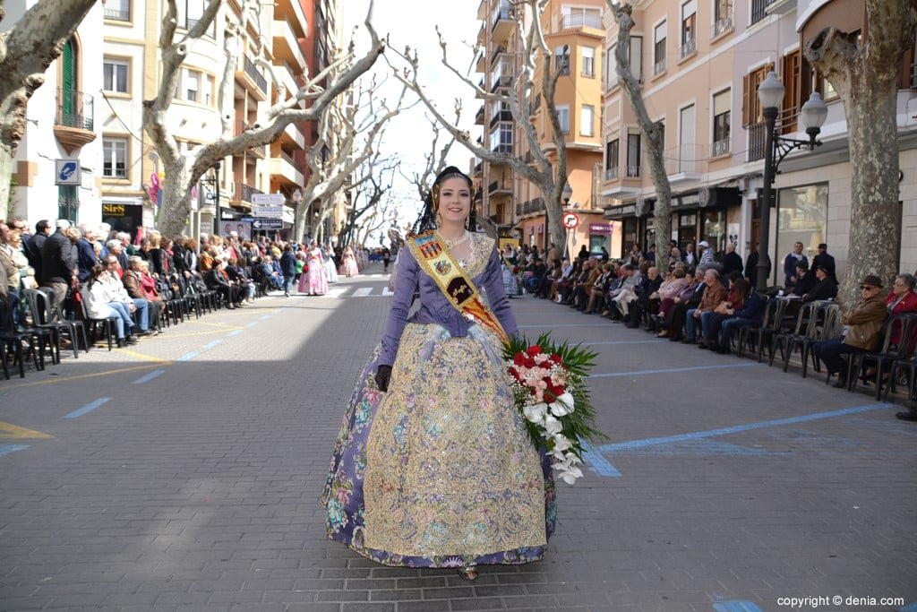 05 Ofrenda Fallas Dénia 2019 – Darrere del Castell