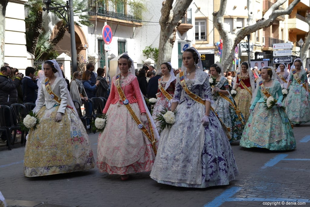 05 Fallas Dénia Offering 2019 - Port Rotes Falla