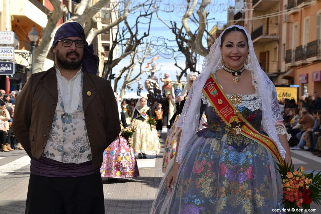 Offering Fallas Dénia 2019 - Invited local meetings