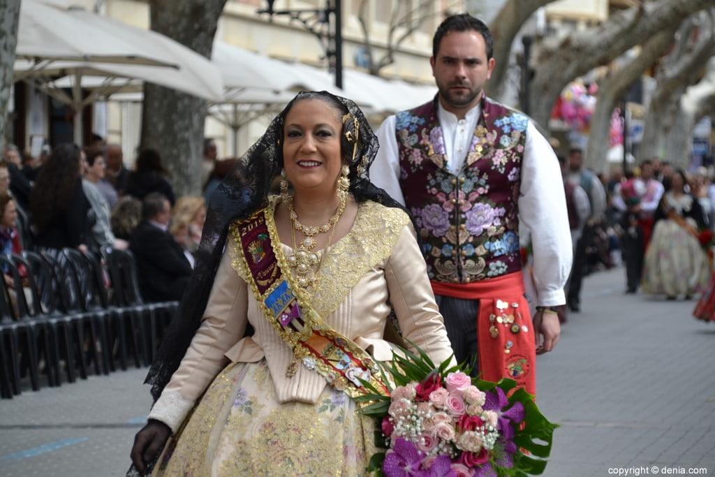 06 Flower offering Fallas Dénia 2019 - Falla Camp Roig