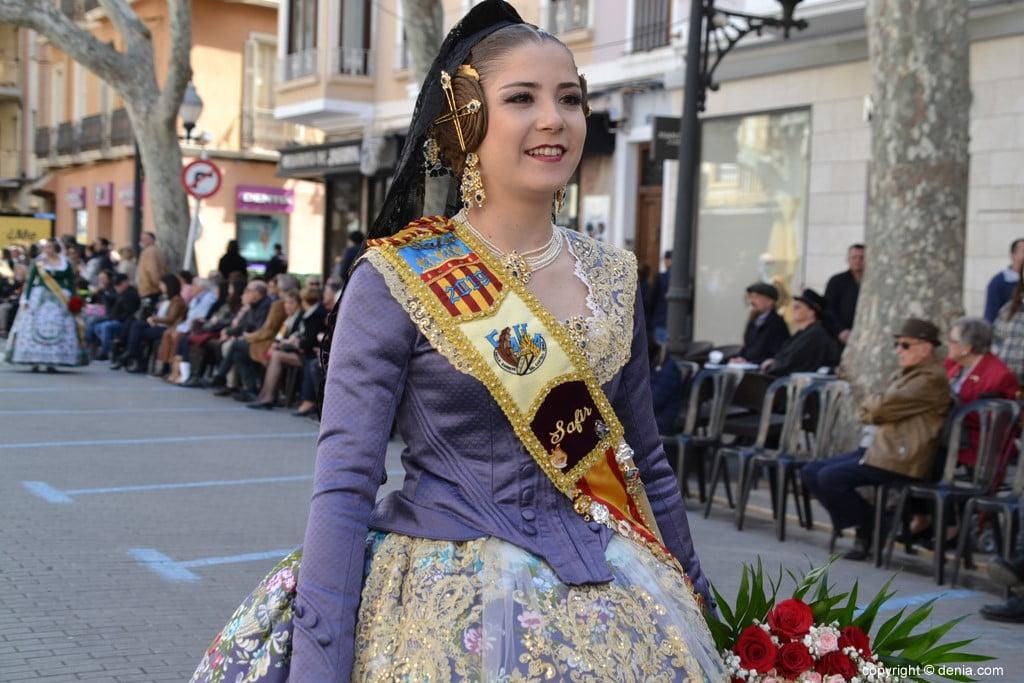 06 Offrant Fallas Dénia 2019 - Darrere del Castell