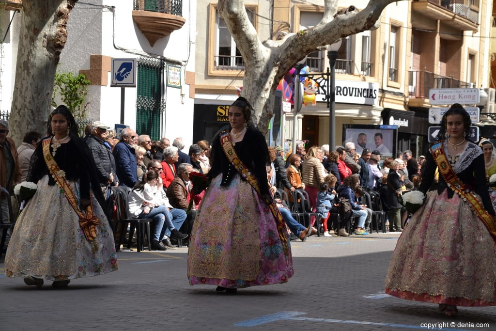 06 2019 Offering Fallas Denia - Falla Diana