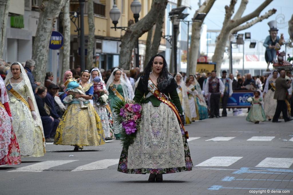 06 2019 Offering Dénia Fallas - Falla Les Roques