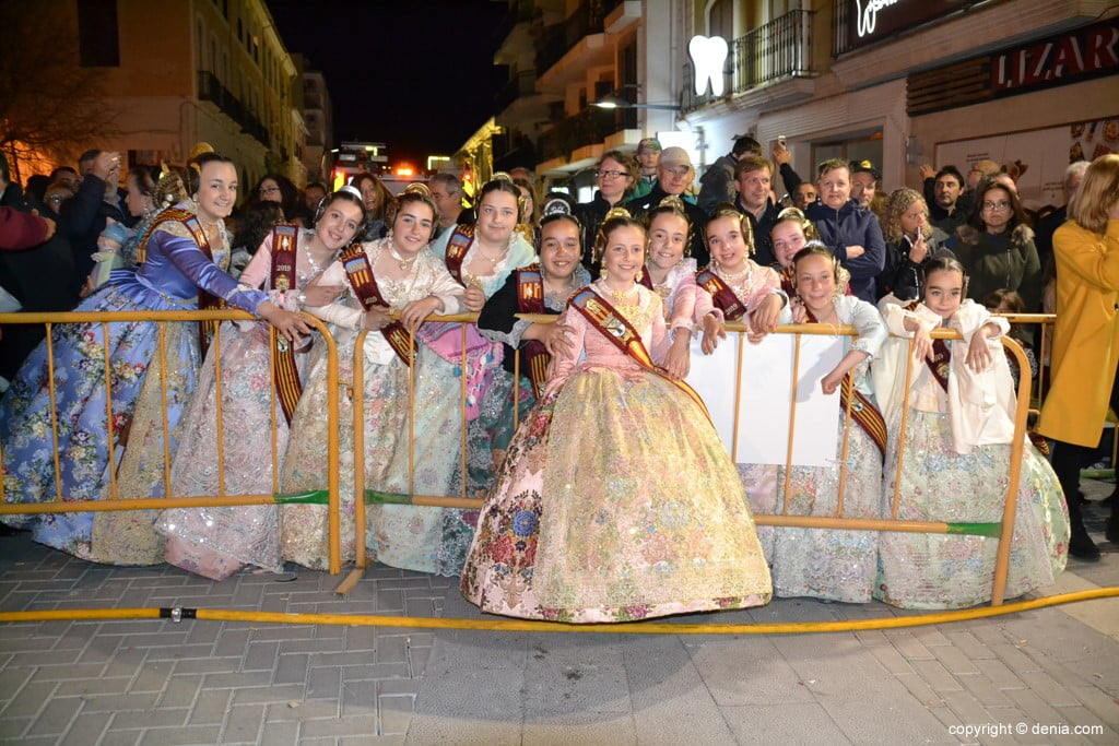 07 Cremà de la falla of the Local Board Fallera 2019 - Neus and his court of honor