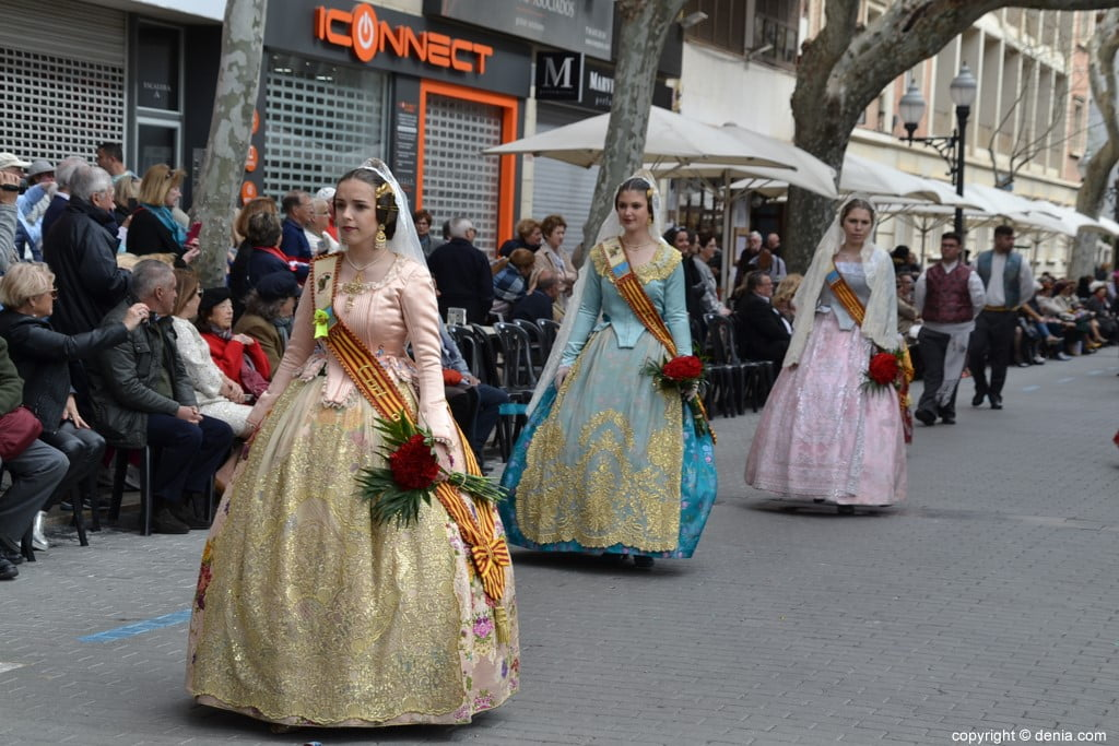07 Flower offering Fallas Dénia 2019 - Falla Camp Roig