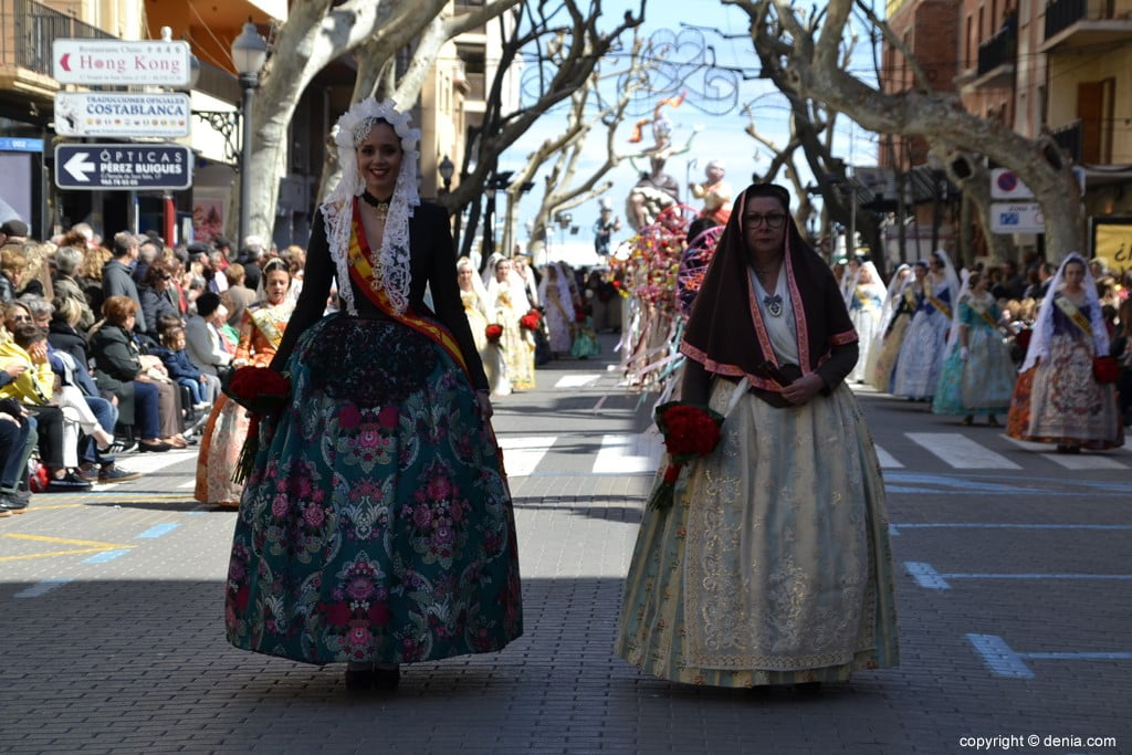 07 Fallas Dénia Offering 2019 - Baix la Mar Falla