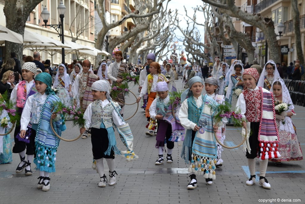 07 2019 Offering Dénia Fallas - Falla Campaments
