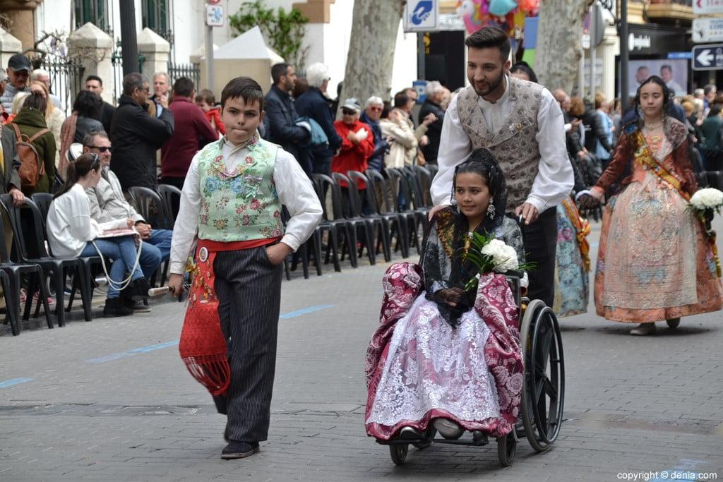 07 2019 Offering Dénia Fallas - Falla Les Roques