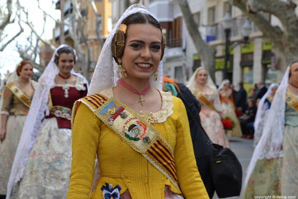 07 2019 Offering Dénia Fallas - Falla Saladar
