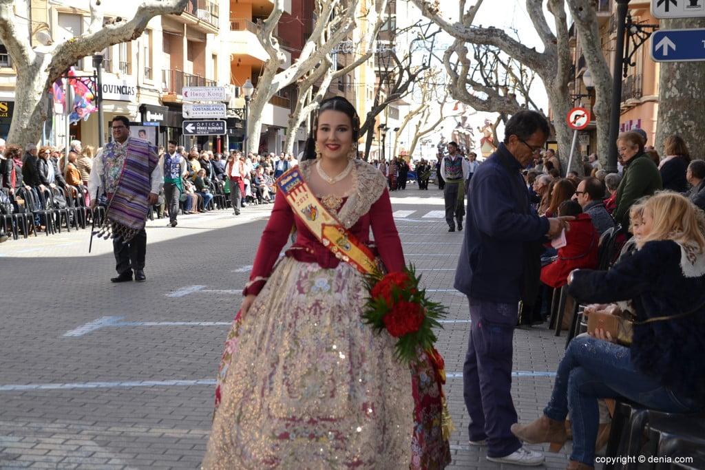 08 Ofrenda Fallas Dénia 2019 – Darrere del Castell