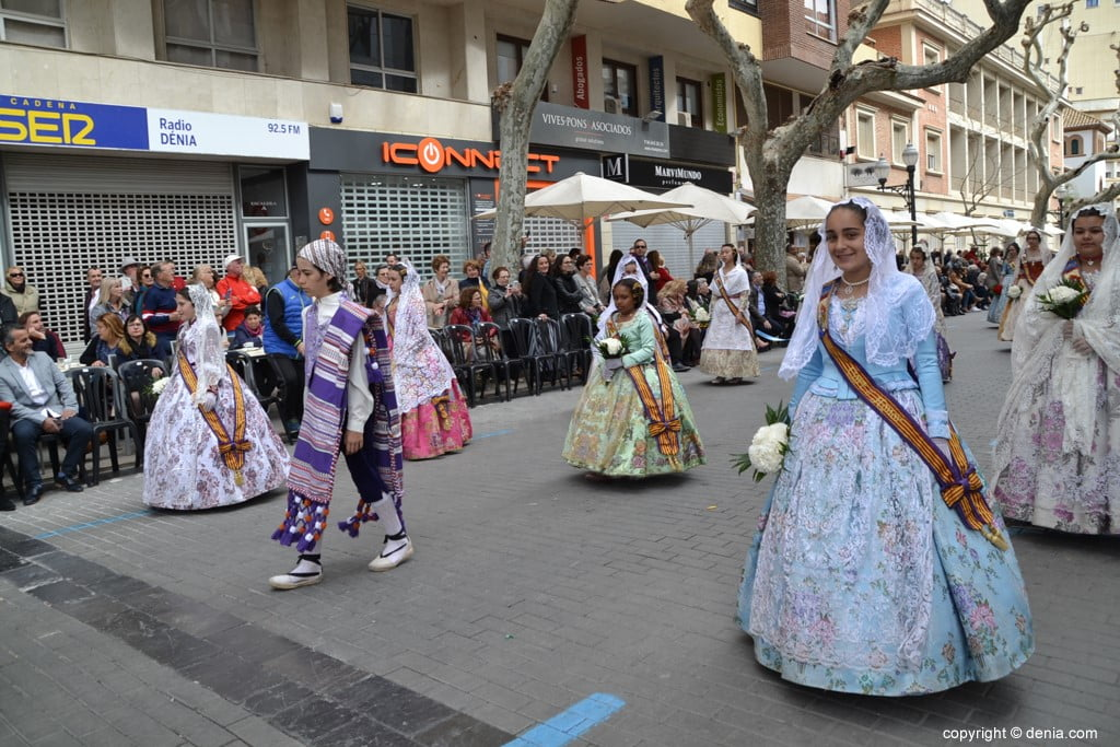 08 2019 Offering Dénia Fallas - Falla Campaments