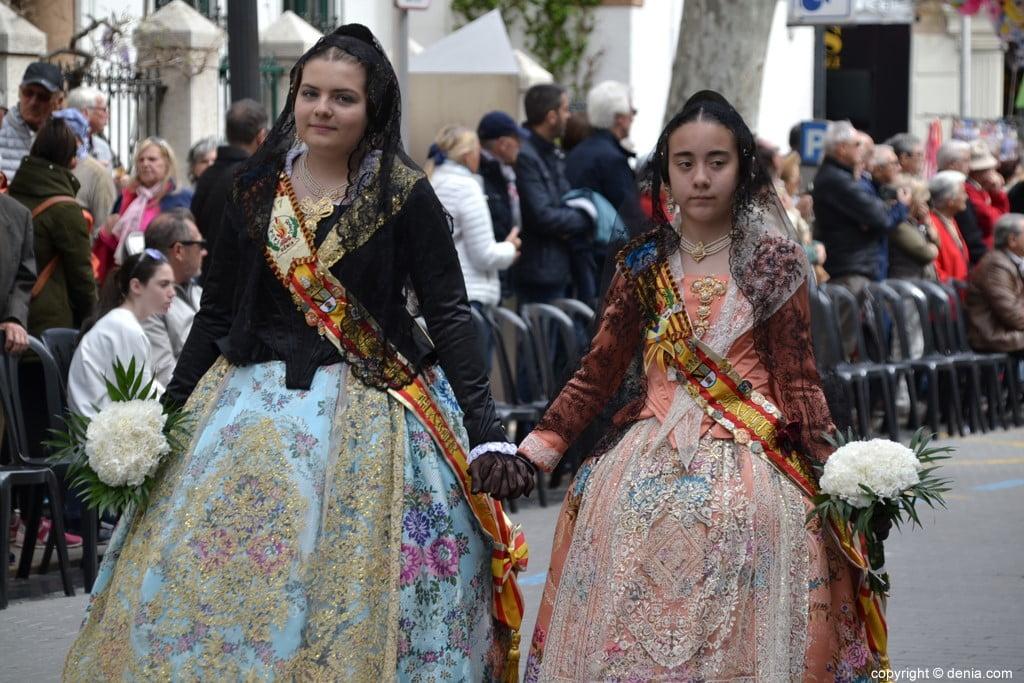 08 2019 Offering Dénia Fallas - Falla Les Roques