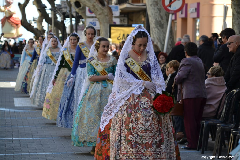 09 Fallas Dénia Offering 2019 - Baix la Mar Falla