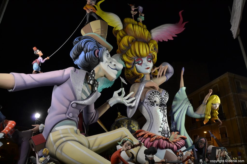 Pantomima – 1º Premio Sección Especial Fallas Dénia 2019