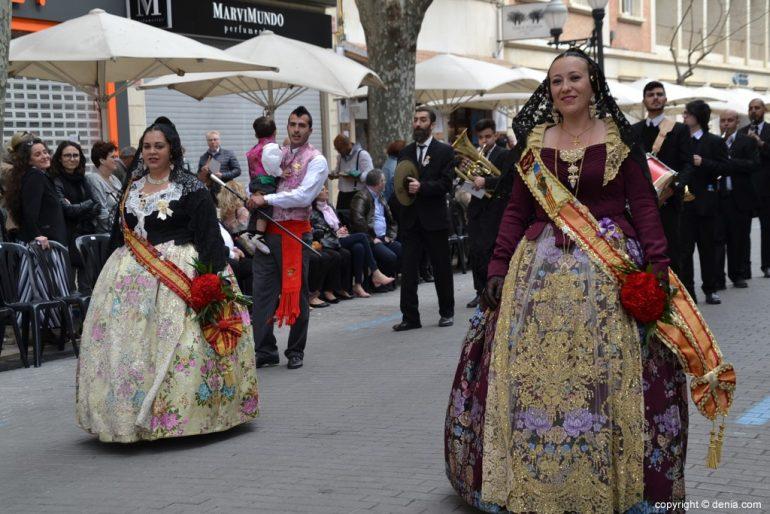 10 Offrande de fleurs fallas Dénia 2019 - Falla Camp Roig