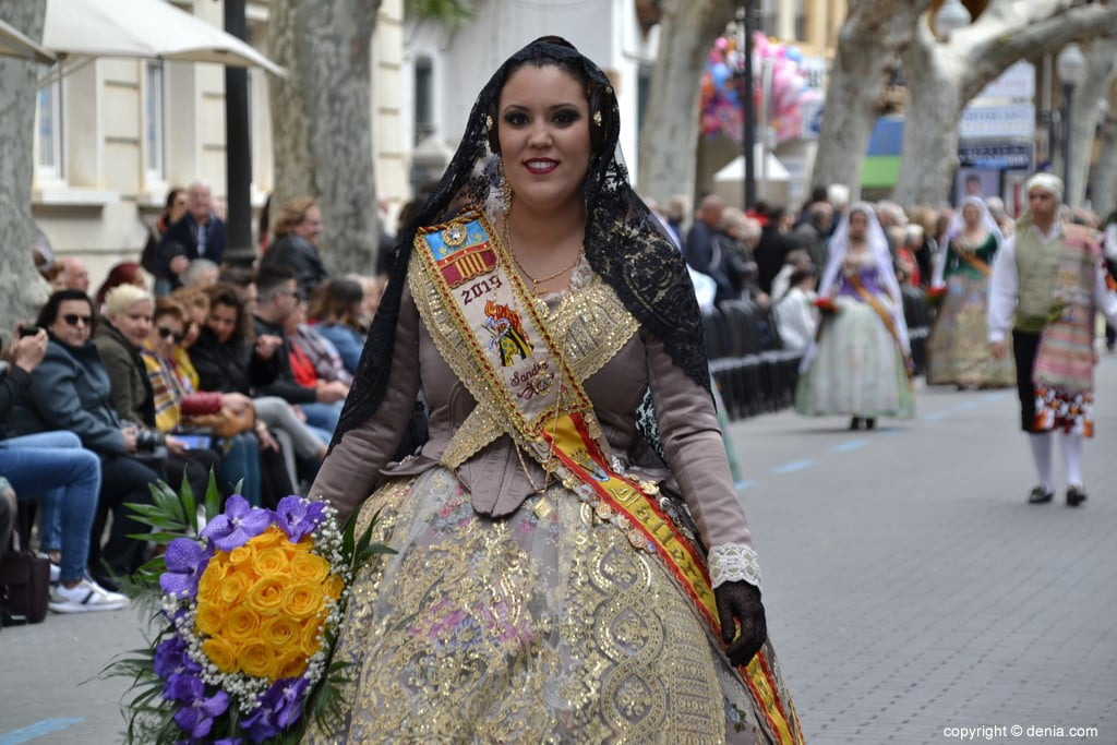 10 2019 Offering Dénia Fallas - Falla Campaments