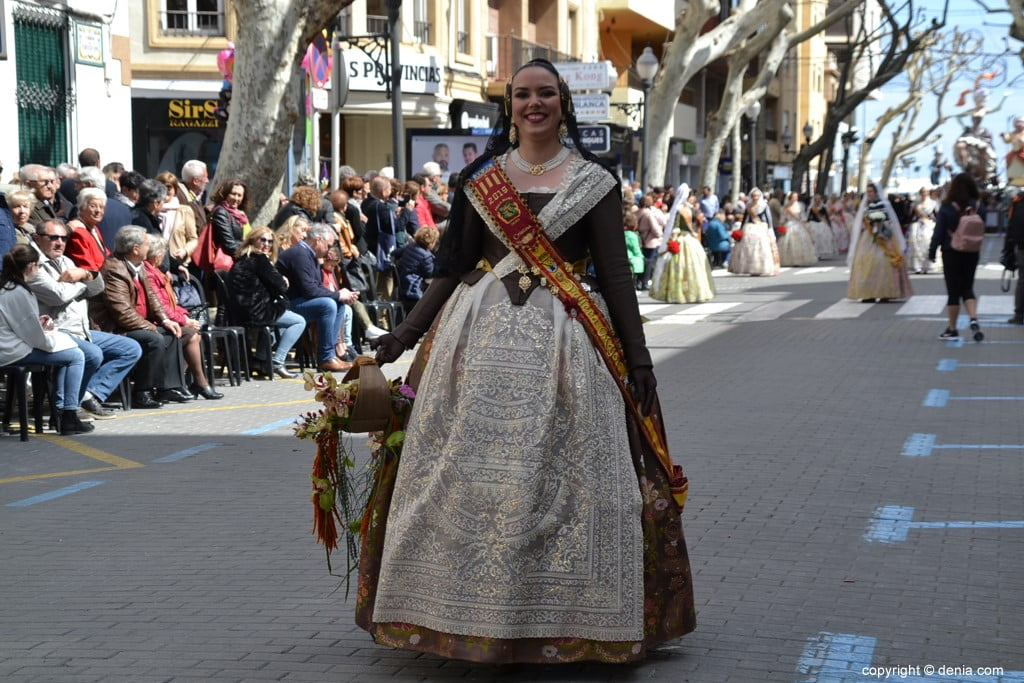 10 2019 Offering Fallas Denia - Falla Diana