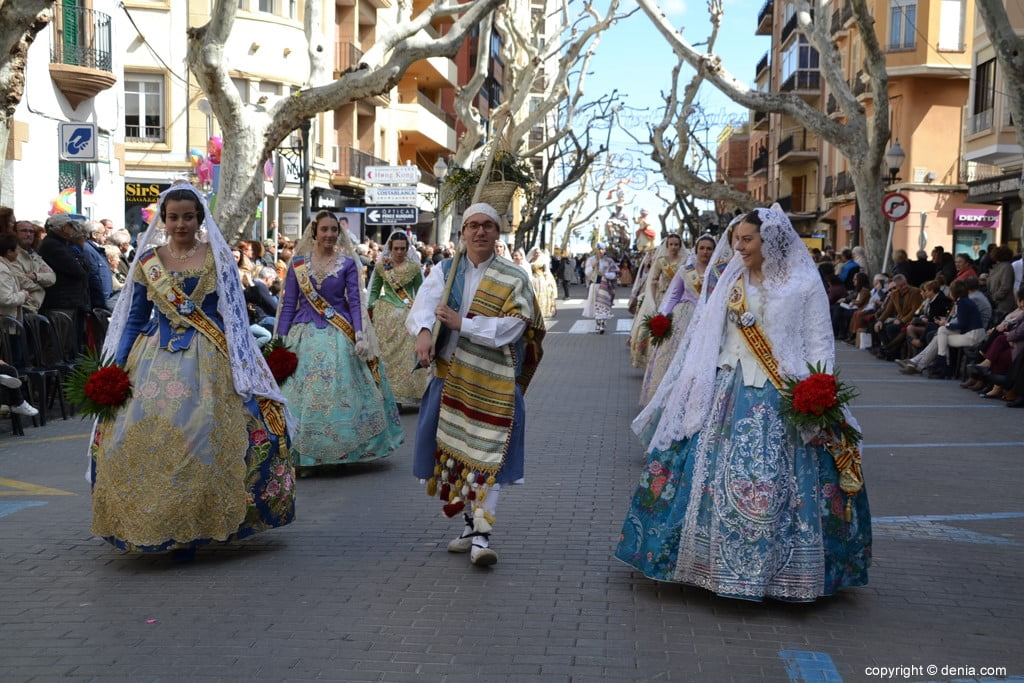 10 2019 Offering Dénia Fallas - Falla Port Rotes