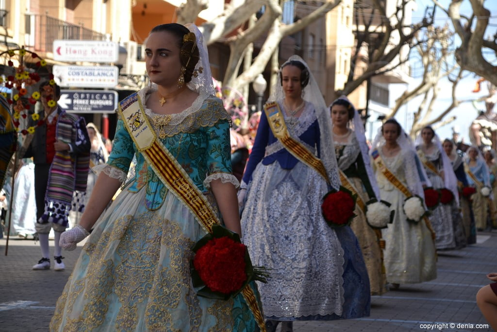 11 Fallas Dénia Offering 2019 - Baix la Mar Falla
