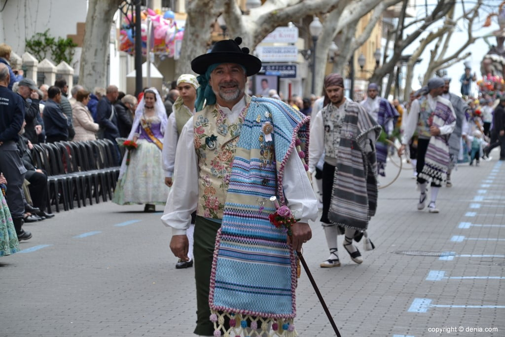 11 2019 Offering Dénia Fallas - Falla Campaments