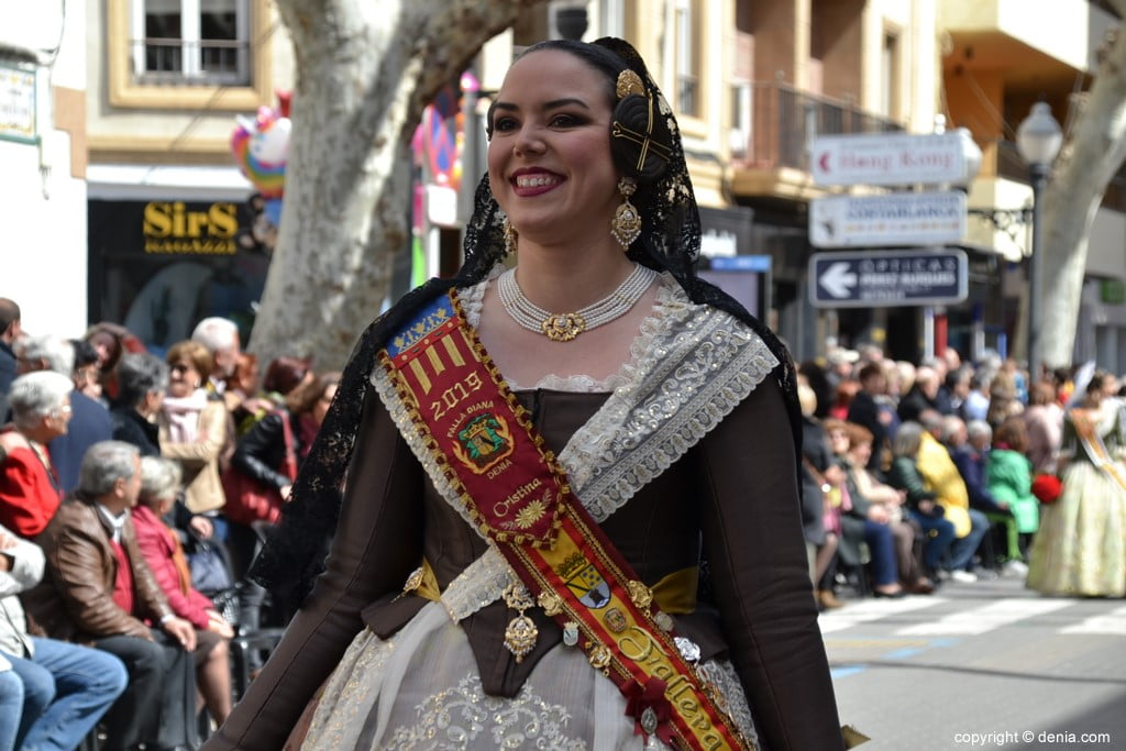 11 2019 Offering Fallas Denia - Falla Diana