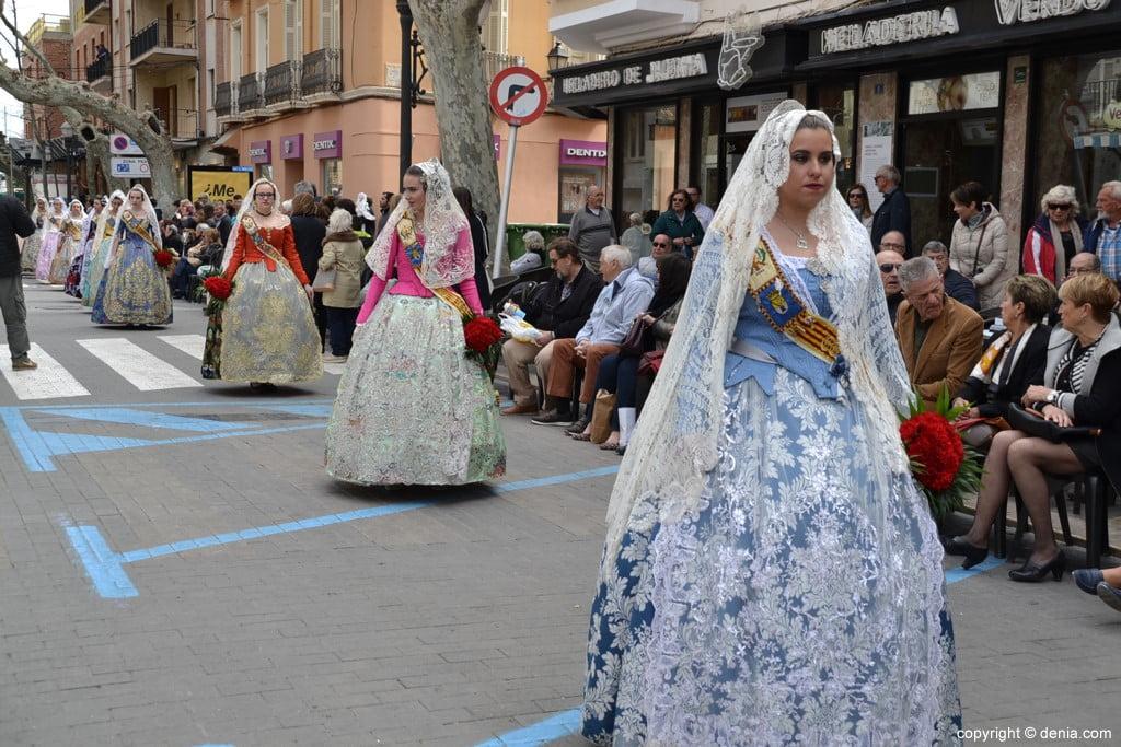 11 2019 Offering Dénia Fallas - Falla Les Roques