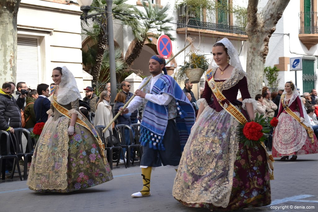11 Fallas Dénia Offering 2019 - Port Rotes Falla