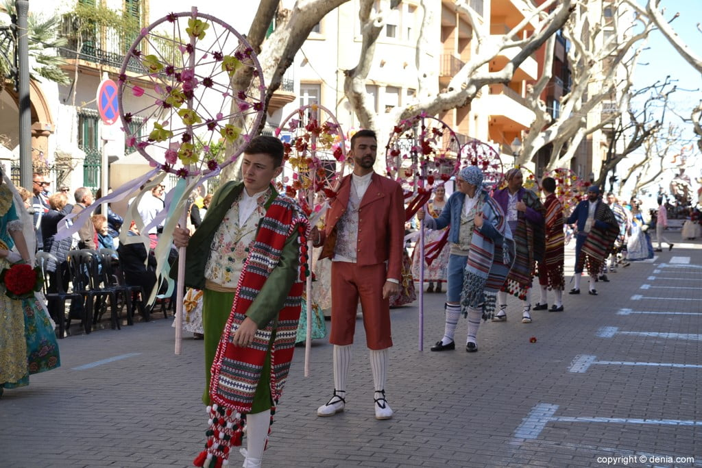 12 2019 Offering Dénia Fallas - Falla Baix la Mar