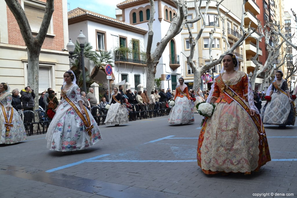 12 2019 Offering Fallas Denia - Falla Diana
