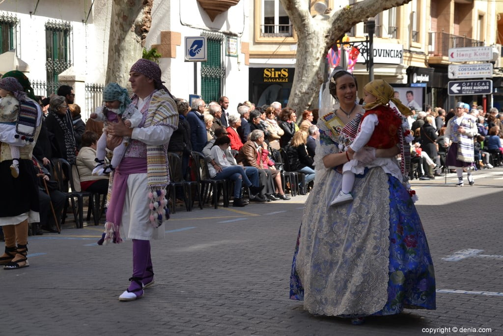 12 2019 Offering Dénia Fallas - Falla Port Rotes