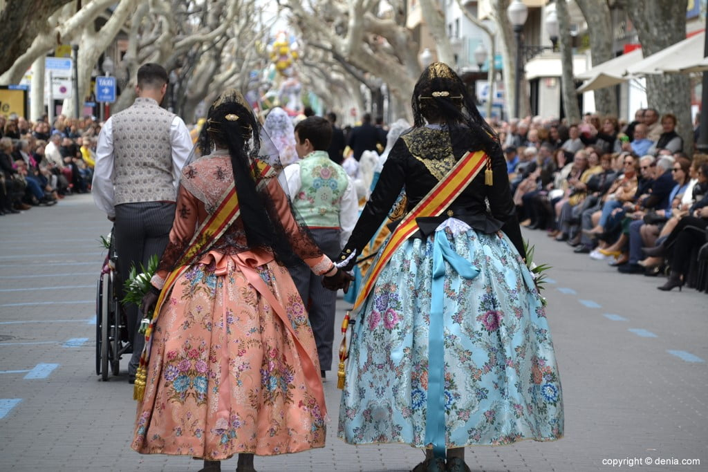 12Ofrenda Fallas Dénia 2019 - Falla Les Roques
