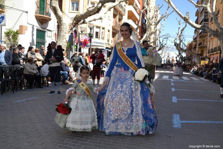 13 Offering Fallas Dénia 2019 - Falla Baix la Mar