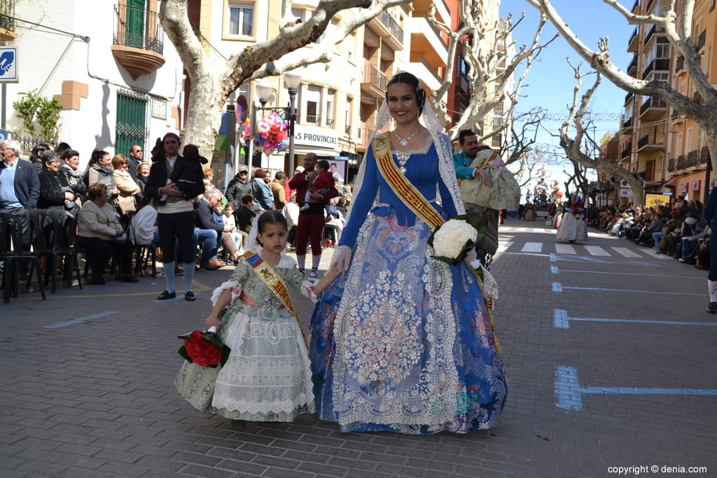 13 2019 Offering Dénia Fallas - Falla Baix la Mar