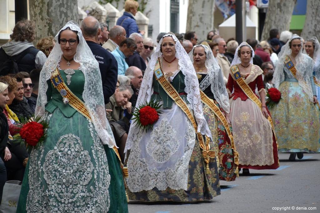 13 2019 Offering Dénia Fallas - Falla Les Roques