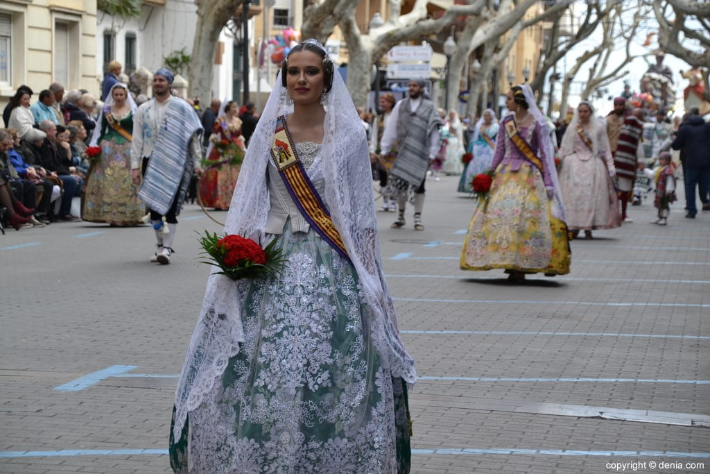 14 2019 Offering Dénia Fallas - Falla Campaments