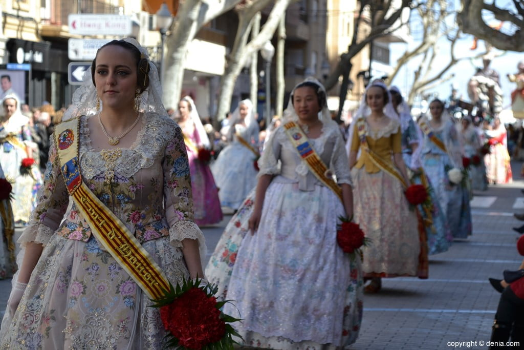 14 2019 Offering Fallas Denia - Falla Oeste