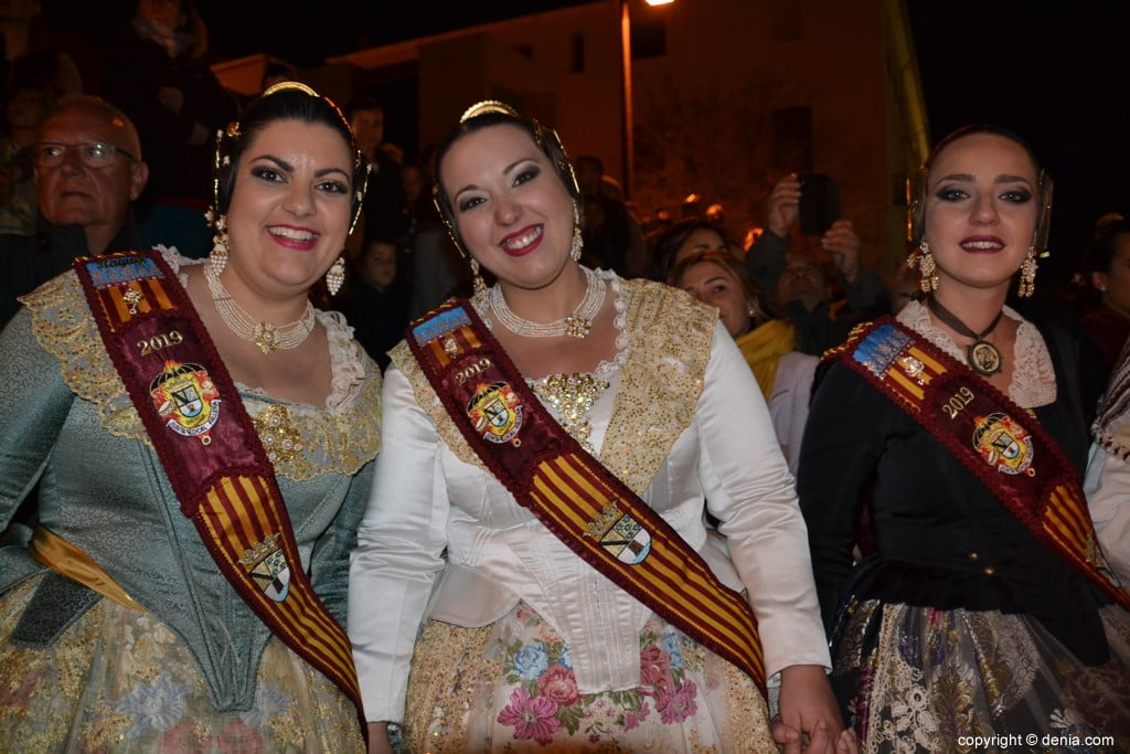 15 Cremà de la falla of the Local Board Fallera 2019 - court of honor