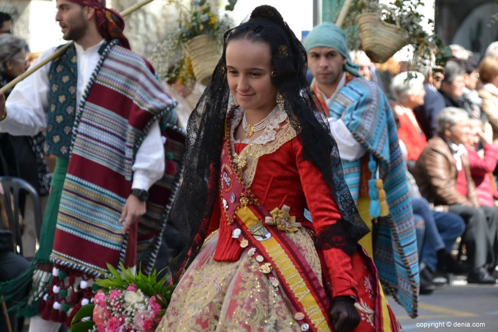 15 Fallas Dénia Offering 2019 - Port Rotes Falla