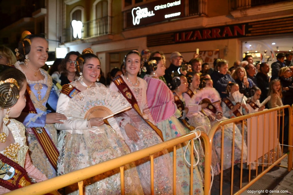 16 Cremà de la falla of the Local Board Fallera 2019 - children's court of honor