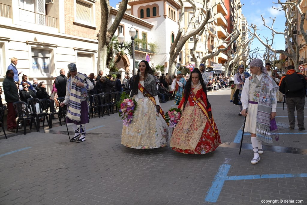 16 2019 Offering Dénia Fallas - Falla Port Rotes