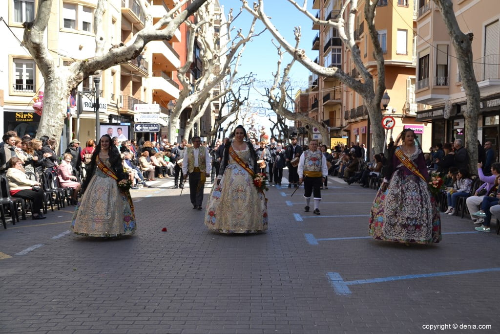 Offering Fallas Dénia 2019 - Falleras Mayores de Dénia from other years
