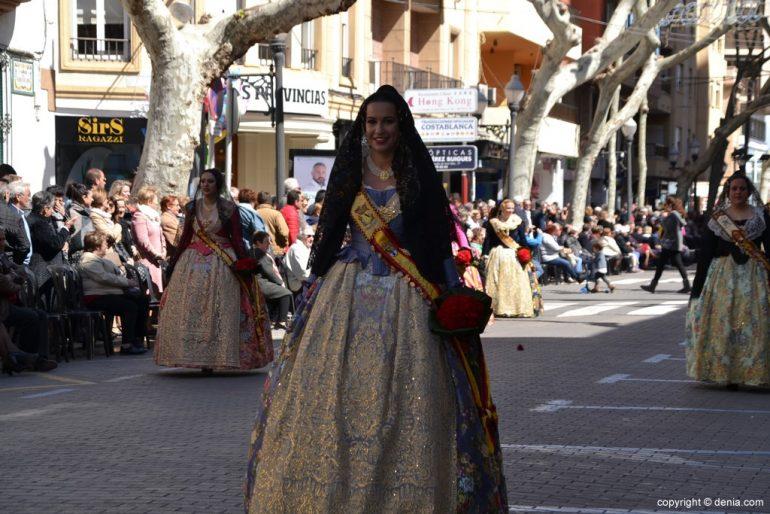 18 Ofrenda Fallas Dénia 2019 - Falla Baix la Mar