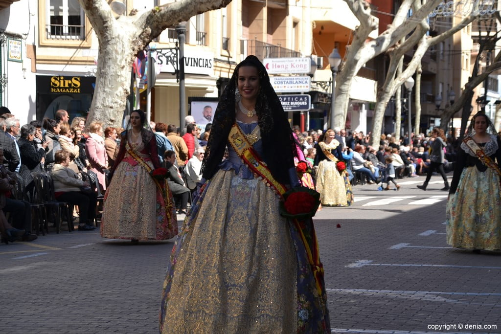 18 Fallas Dénia Offering 2019 - Baix la Mar Falla