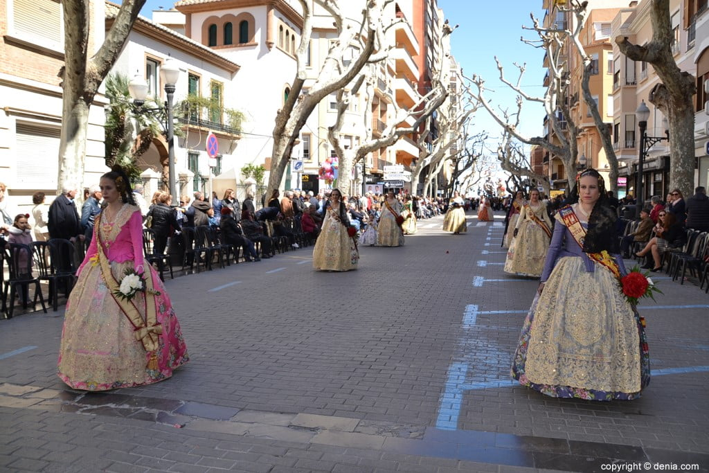 18 2019 Offering Fallas Denia - Falla Oeste