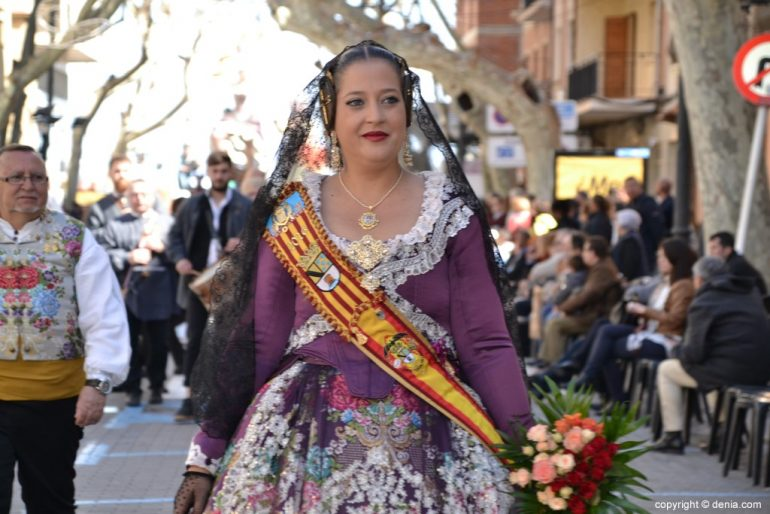 Offering Fallas Dénia 2019 - Falleras Mayor de Dénia of other years