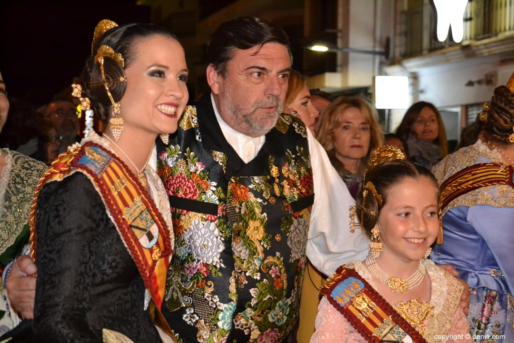 19 Cremà de la falla of the Fallera Local Board 2019 - Amparo and Neus