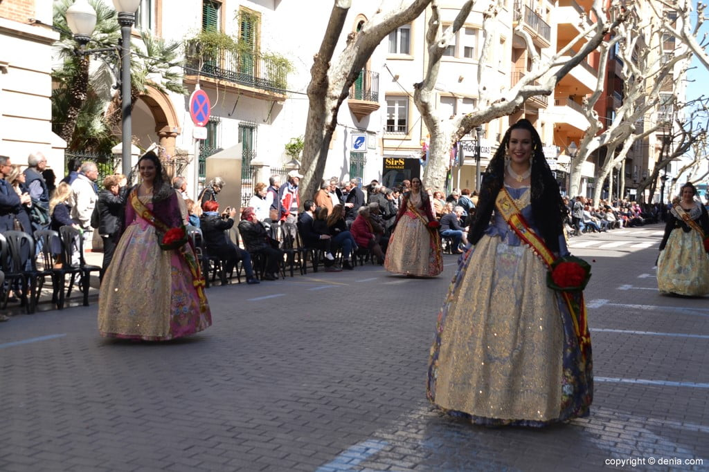 19 2019 Offering Dénia Fallas - Falla Baix la Mar