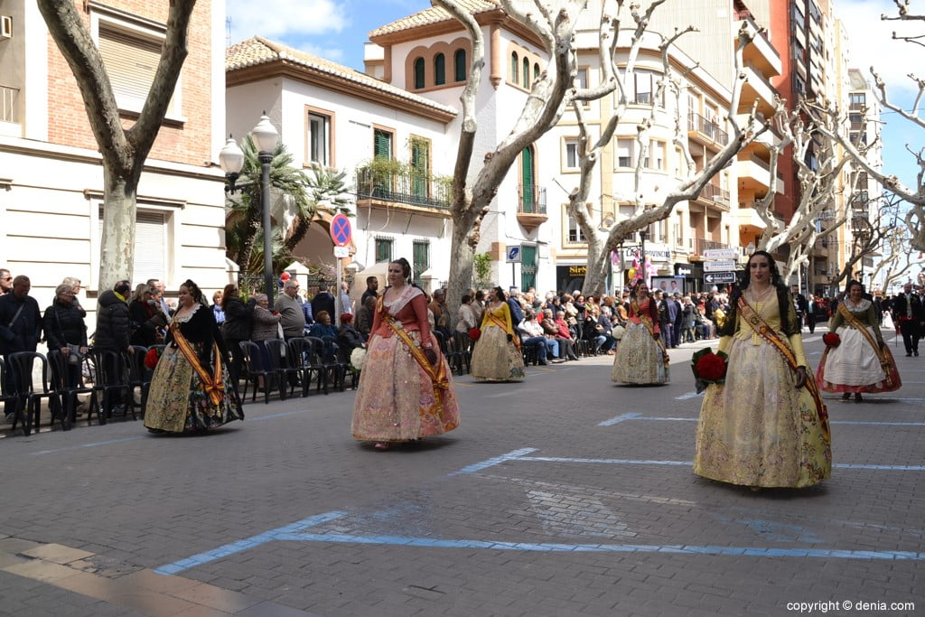 19 2019 Offering Fallas Denia - Falla Diana