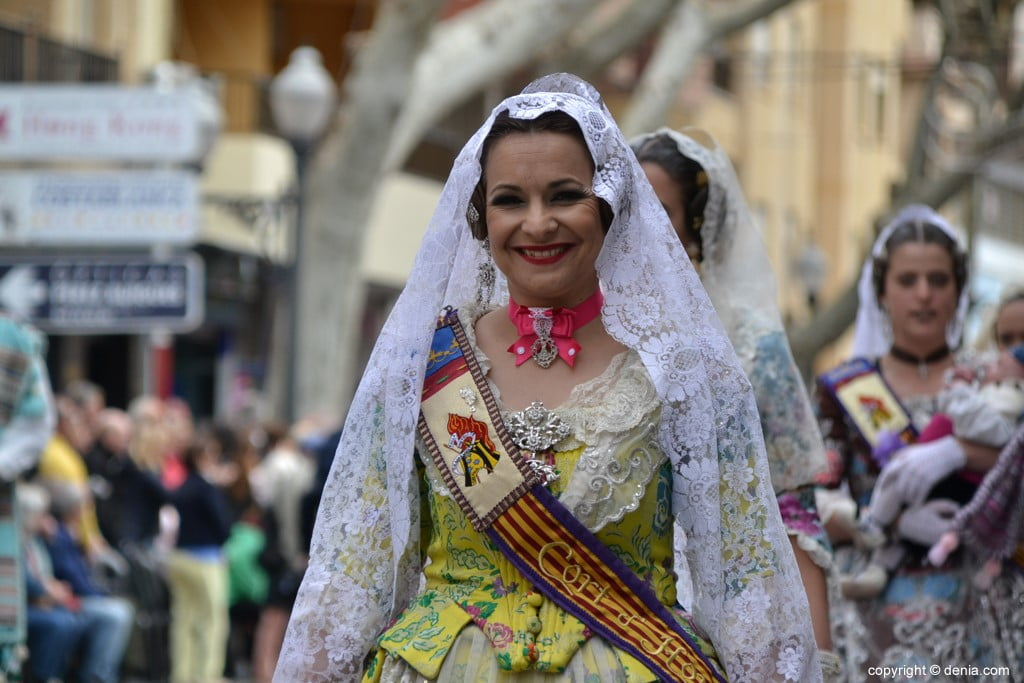 20 2019 Offering Dénia Fallas - Falla Campaments