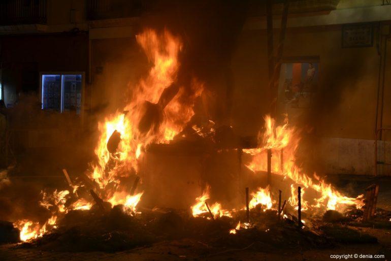 21 Cremà of the failure of the Local Board Fallera 2019 - fire